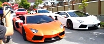 Supercar Galore at Malaysian Badminton Wedding [Video]