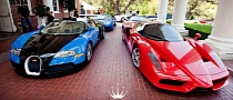 Supercar Parade is a Valet's Dream