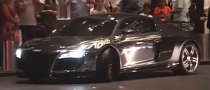 Supercar Spotting: Chrome on Audi R8 PPI Razor [Video]