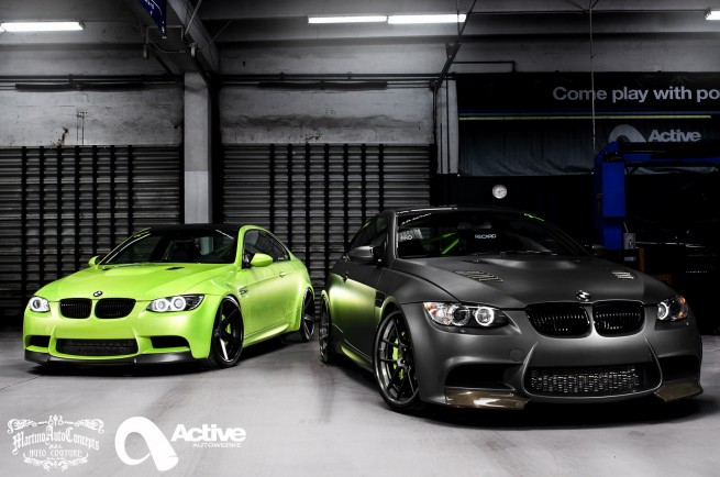 Supercharged BMW M3 Duo from Active Autowerke and MAC