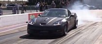 Supercharged Corvette Sounds Mean, Pulls 8-Second Quarter Mile [Video]
