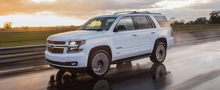 Supercharged Hpe650 Package Turns Chevrolet Tahoe Rst Into