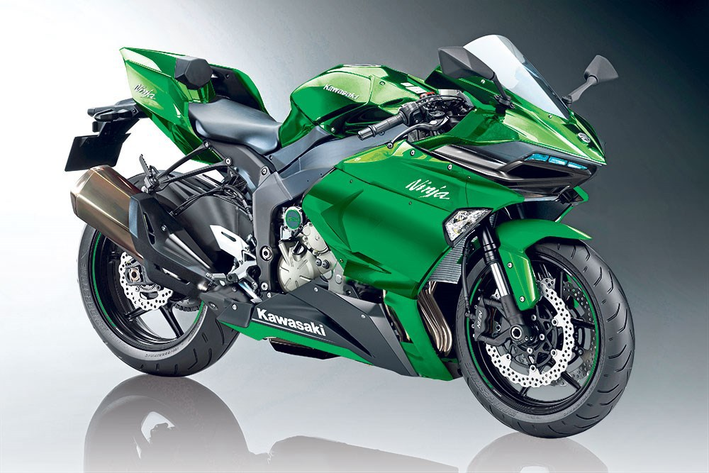 supercharged kawasaki ninja r2 rumored autoevolution. Black Bedroom Furniture Sets. Home Design Ideas