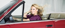 Supermodel Hairdo in BMW Wind Tunnel, Video Included