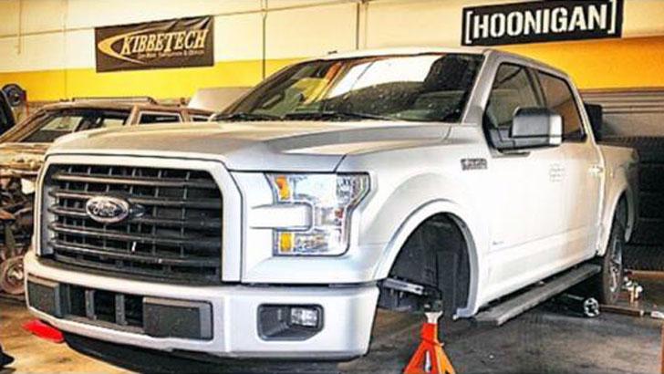 Surprise 2015 Ford F 150 Teased By Vaughn Gittin Jr