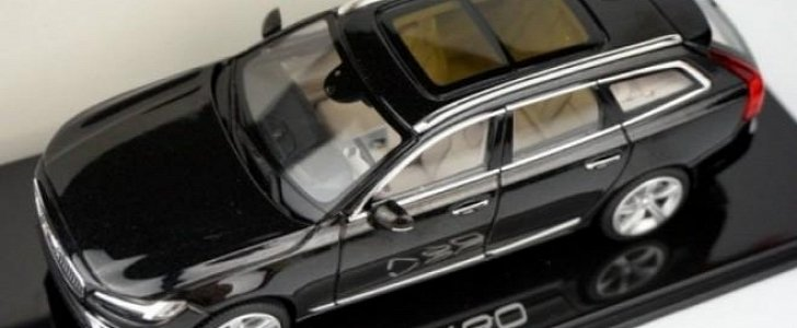 Surprise, Surprise: Volvo V90 Is the Next Swedish Model to Get a 1:43 Reveal - autoevolution