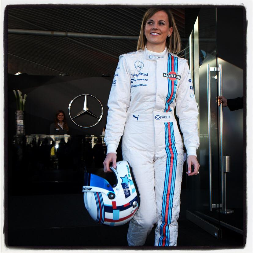 susie wolff to become official test driver for williams f1 team next year autoevolution. Black Bedroom Furniture Sets. Home Design Ideas