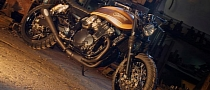 Suzuki 750 Inazuma Scrambler by Rock Motorcycles [Photo Gallery]