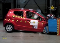 Suzuki Alto in Euro NCAP tests