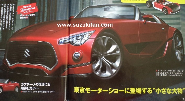 Suzuki Cappuccino Kei Sports Car Reportedly Revived