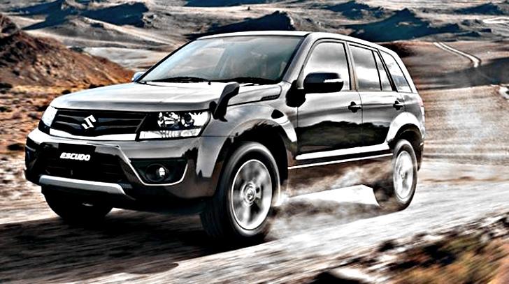 Suzuki Grand Vitara Escudo Gets Mid Life Makeover