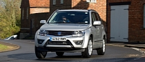 Suzuki Grand Vitara Mild Refresh for UK Market