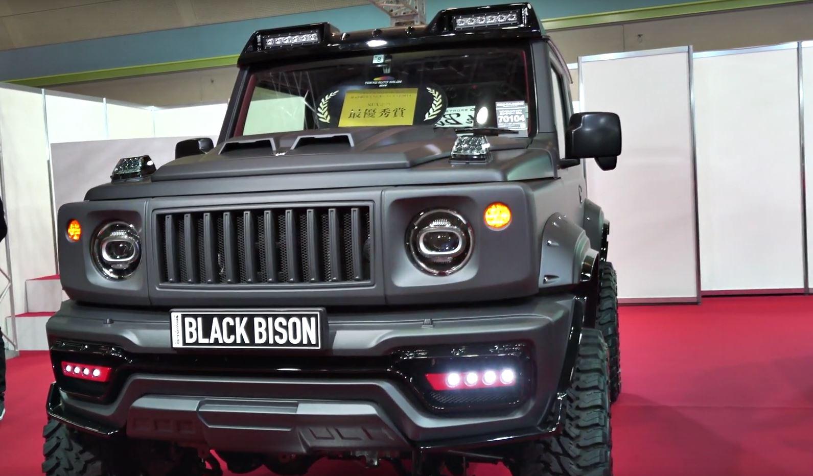 Suzuki Jimny Black Bison by Wald Is Tougher Than a G-Class