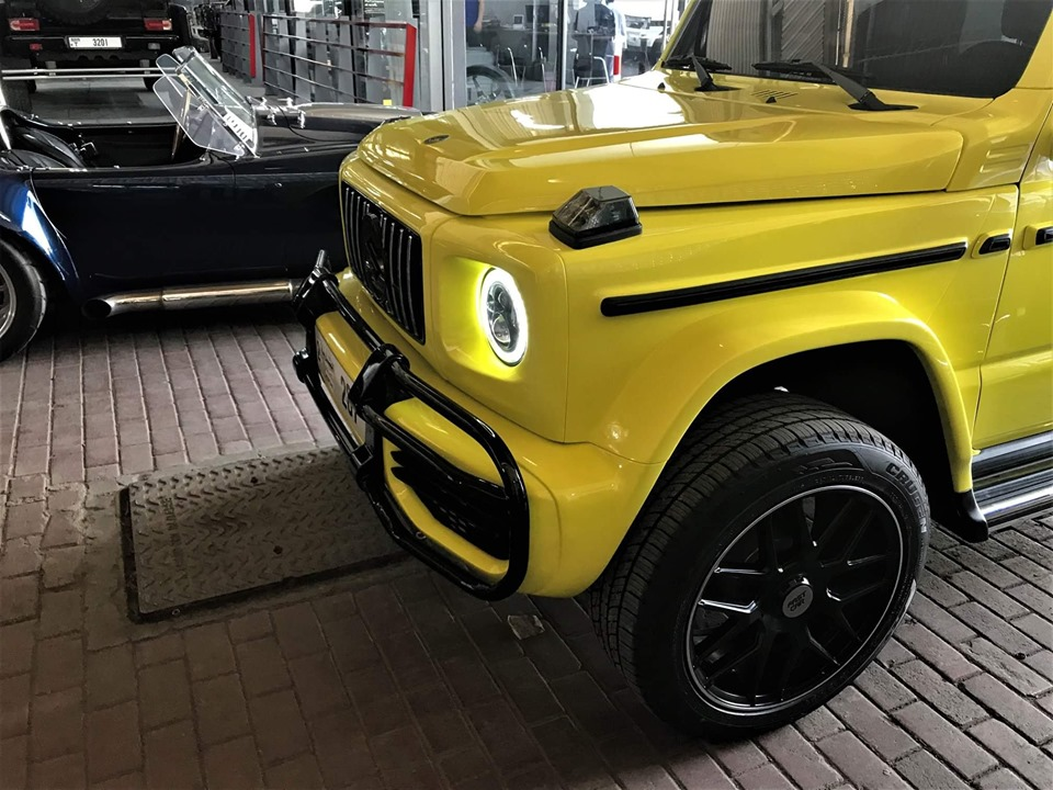 Suzuki Jimny Gets Mercedes-AMG G63 Conversion in China, Bull Bar