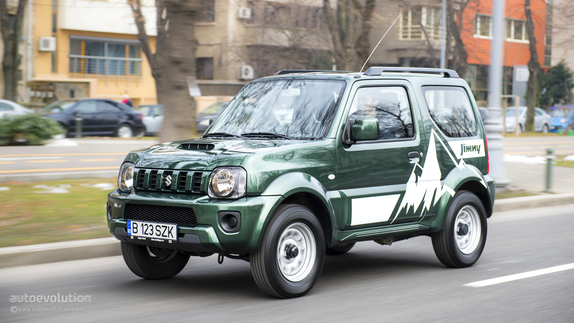 Suzuki Jimny Hd Wallpapers More David Than Goliath