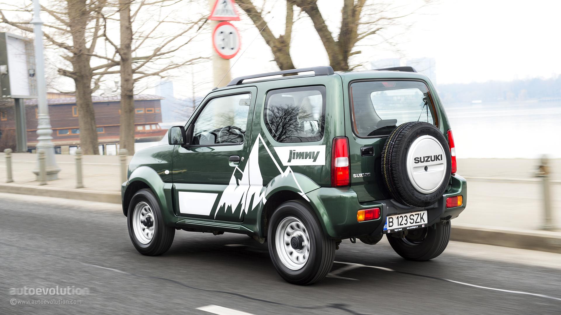 Suzuki Jimny Tested Mountain Goat Autoevolution