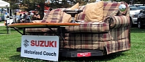 Suzuki Shows Couch on Wheels Concept in The Kizashi Kicks Campaign