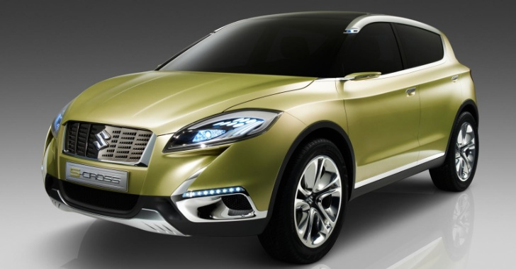 Suzuki S-Cross Concept Previews SX4 Replacement