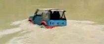 Suzuki Samurai Off-Road Underwater Driving [Video]