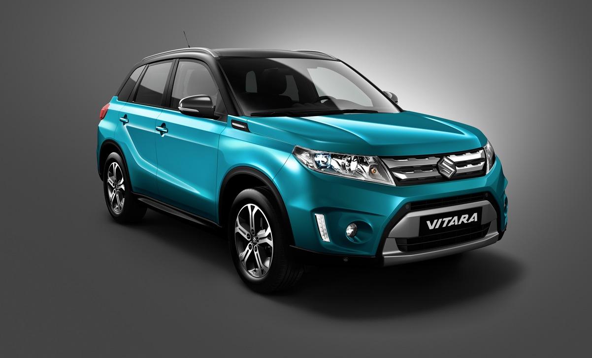 Suzuki Shows AllNew Vitara Crossover SUV ahead of Paris Debut