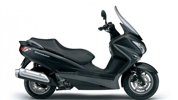 Suzuki Shows 2014 Burgman 125 and 200 Scooters [Photo Gallery]