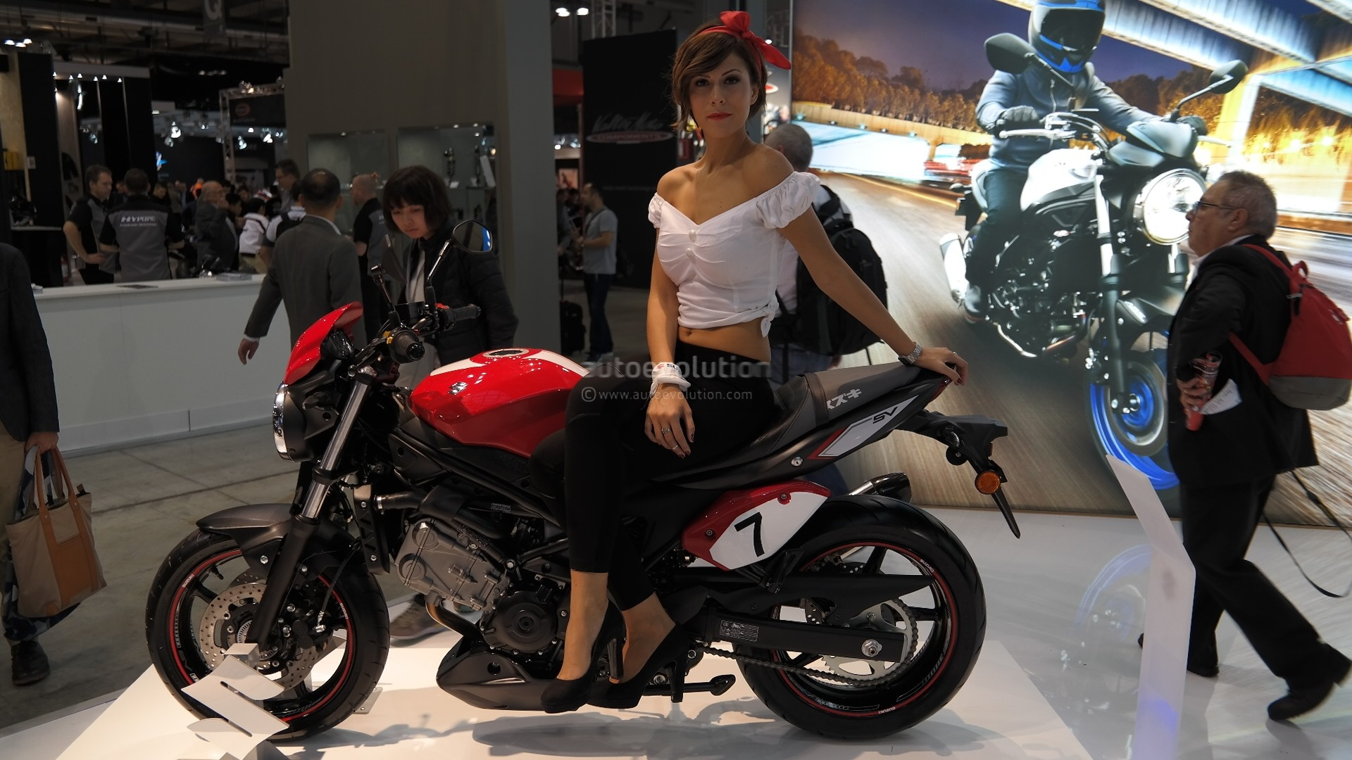 Suzuki Sv650 And The New Yamaha Adventure Bike A2 Compliant