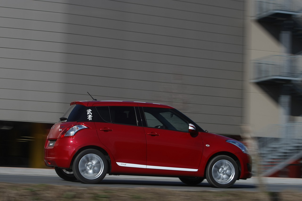Suzuki Swift Samurai Design Unveiled Autoevolution Four Doors Of Will Be Only Available Until End March