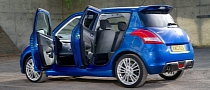 Suzuki Swift Sport Gets Five-Door Version