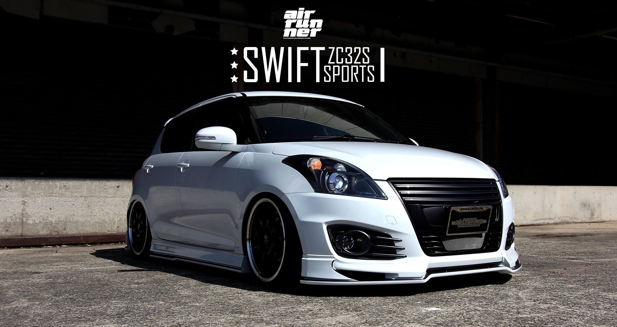 suzuki swift sport looks cool with beli kit and air ride suspension autoevolution. Black Bedroom Furniture Sets. Home Design Ideas