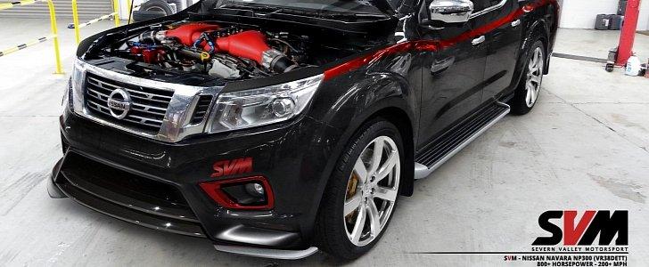 Svm Nissan Navara Np300 Is Powered By An 800 Hp Vr38dett
