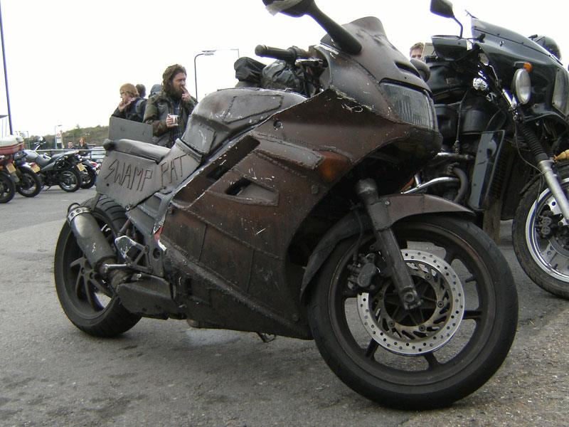 Swamp Rat The Apocalyptic Honda Vfr Autoevolution