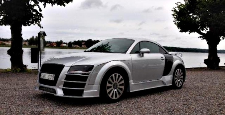 Swedish Audi TT Owner Gives His Car the R8 Treatment