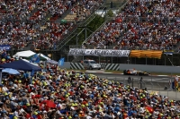 Spanish crowd during the 2008 Spanish GP