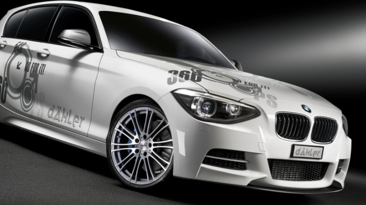 Swiss Tuner Dahler Takes BMW M135i xDrive Up to 360 HP