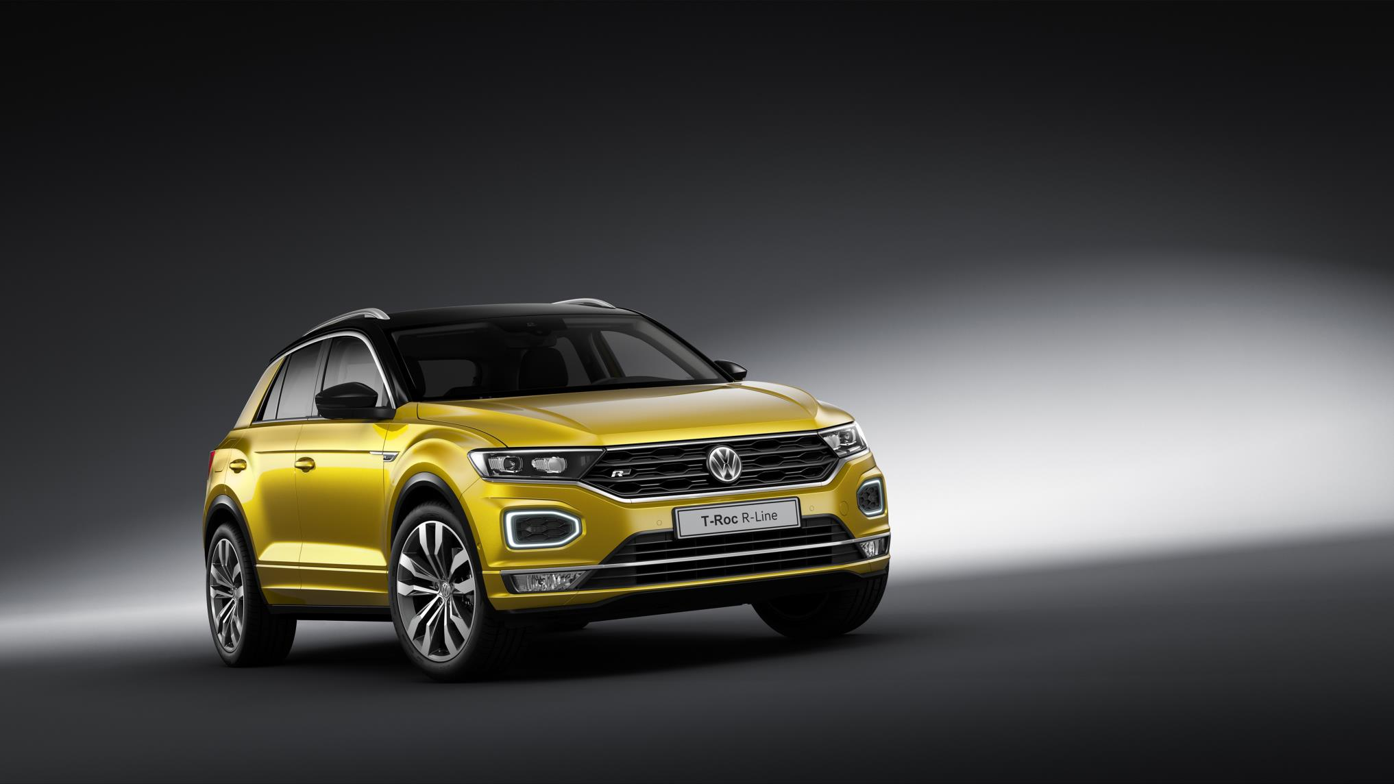 VW Tiguan Allspace and T-Roc get R-Line trims