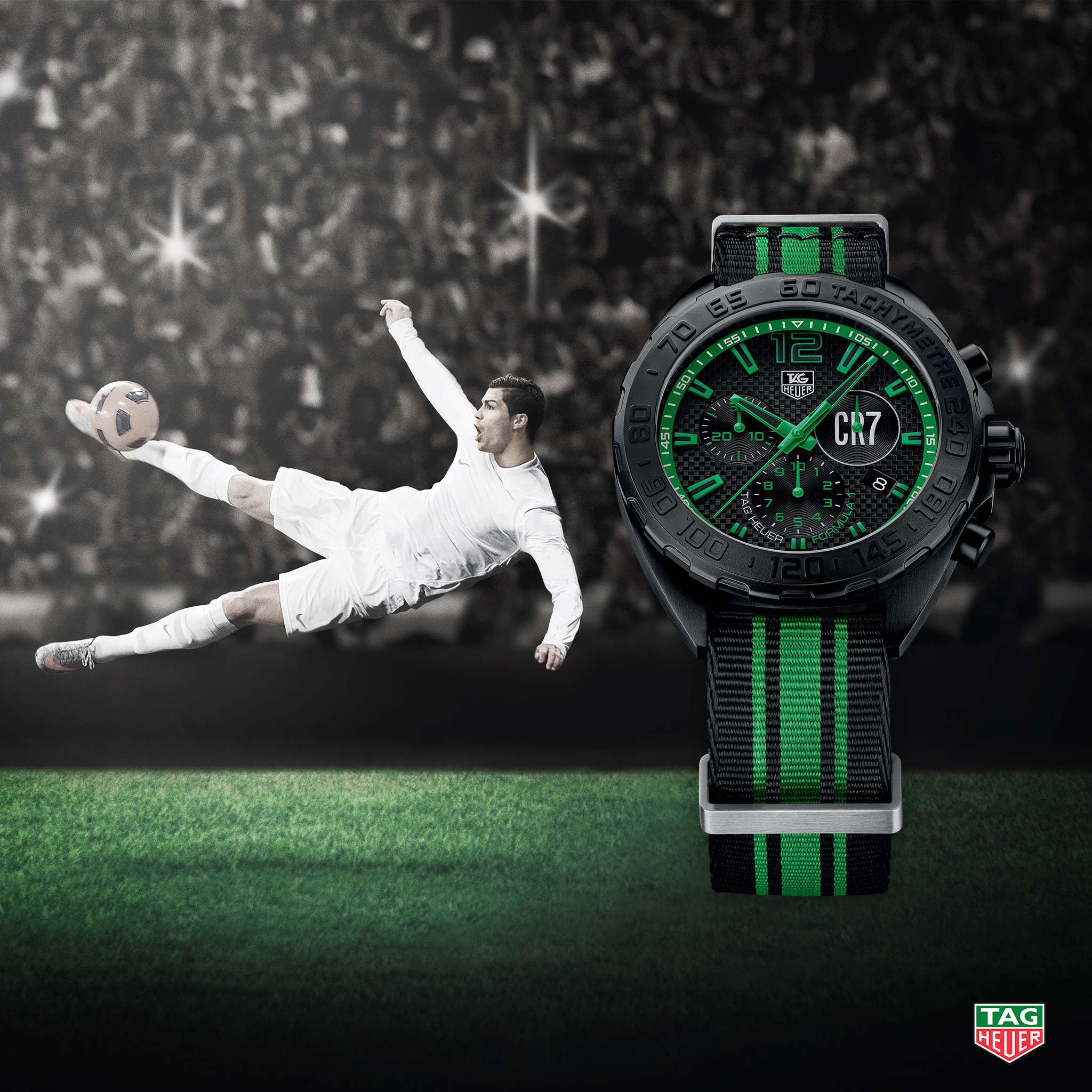 automatic carrera watches heuer m mm tag calibre watch en football