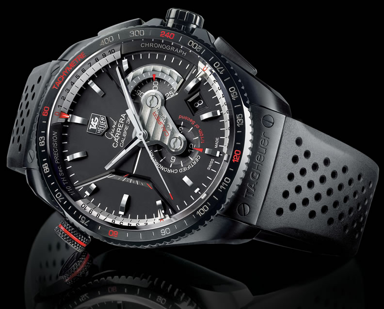 2857b512326 Tag Heuer Launches Grand CARRERA Chronograph - autoevolution