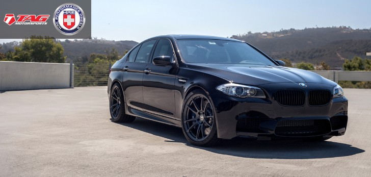 TAG Motorsports Presents: BMW F10 M5 on HRE Wheels
