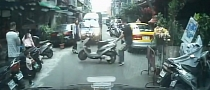 Taiwanese Man Gets Very Angry at Improperly Parked Scooter [Video]
