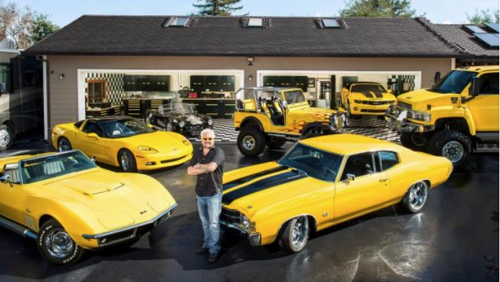 Take A Glimpse At Food Network S Star Guy Fieri S Car