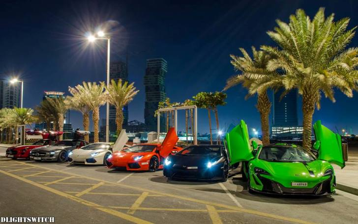 Take a glimpse at what the exclusive dubai supercar owners for Super luxury hotels in dubai
