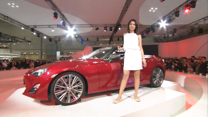 Take a Last Look at the Toyota FT-86 Open in Tokyo [Video]