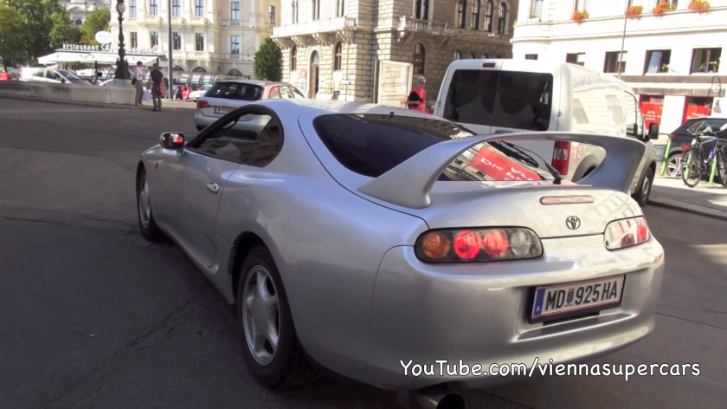 Take a Ride in a Souped Up Toyota Supra [Video]