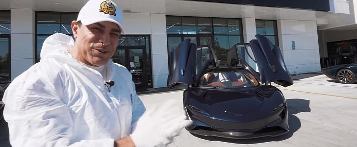Take a Ride in the Unique McLaren Speedtail Hermes Edition - autoevolution