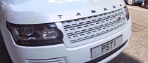 Tamara Ecclestone's Kahn Range Rover Has Her Name On It [Video]
