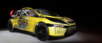 Tanner Foust's 2011 Fiesta Rallycross Racer Heading for Europe