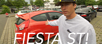 Tanner Foust Drives Ford Fiesta ST at Nurburgring [Video]