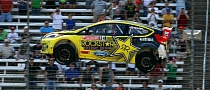 Tanner Foust Happy With Podium in Texas