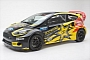 Tanner Foust Reveals his 2014 Ford Fiesta ST Energy Drink Racer