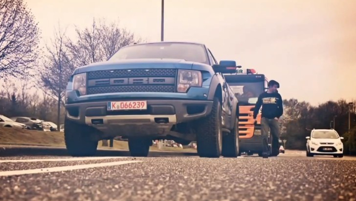Tanner Foust Takes On Nurburgring in a Ford Raptor [Video]